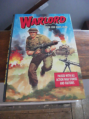 Warlord for boys annual 1990