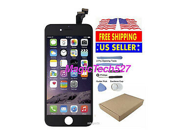 Black LCD Display+Touch Screen Digitizer Assembly Replacement for iPhone 6 OEM