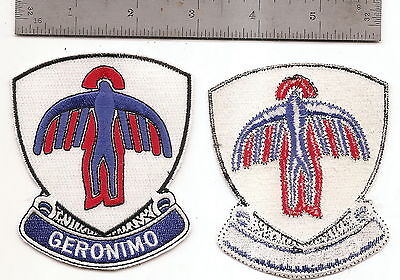 """#199 501St Airborne Infantry Patch """"geronimo"""""""