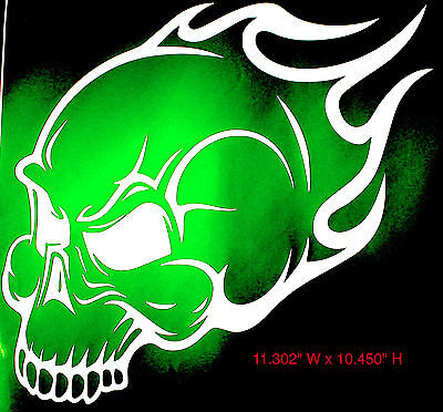 NEW Plasti Dip SKULL FLAME stencil for any surface where plastidip goes