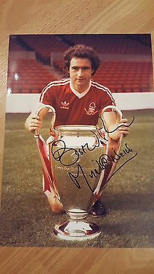 Nottingham forest signed european picture martin o neil