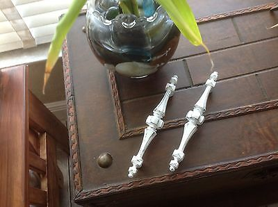 476 VTG Midcentury Handles  White Wash Shabby Chic! 2 Available • CAD $8.89
