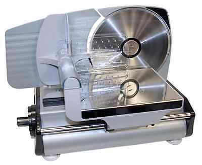 Electric Meat Slicer Kitchen Food Deli Cutter Steel Blade Sandwiches Ham Beef