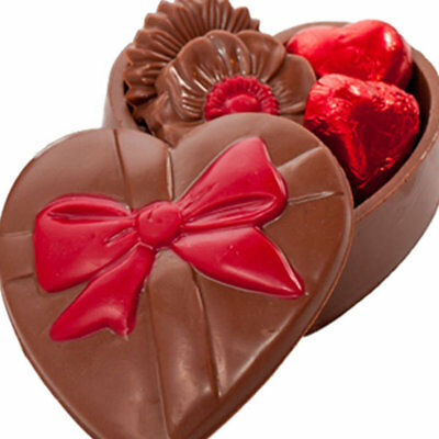 New Heart Trinket Box chocogram gifts him her christmas