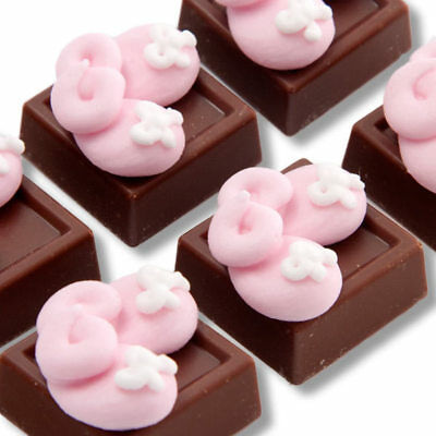 New One Baby Girl Chocolate chocogram gifts him her christmas