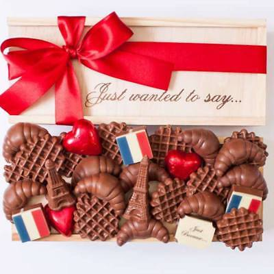 New From Paris With Love chocogram gifts him her christmas