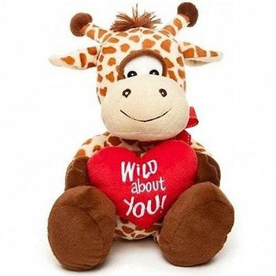 New Wild About U Giraffe 43cm chocogram gifts him her christmas
