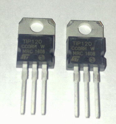 TIP120 - 2pcs or 10pcs or 20pcs - DARLINGTON TRANSISTOR NPN 60V 5A - US SHIP