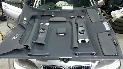 BMW E46 3 Series Saloon Interior Sport Roof Lining Set In Black,Complete