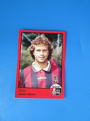 237 JEAN-PHILIPPE MATTIO # ROOKIE OGC.NICE STICKER PANINI FOOTBALL 90