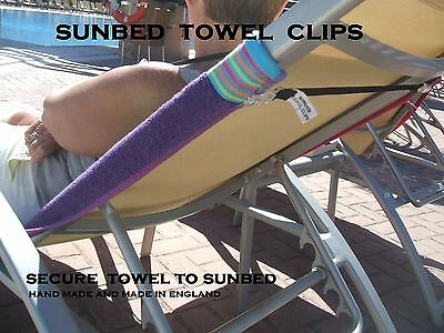 SUNBED TOWEL CLIPS for your next holidays