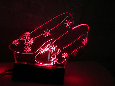 Ruby Slippers Light Sculpture By BUZZY TRUSIANI - Warner Bros