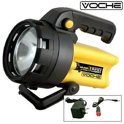 Voche® 3 Million Candle High Power Rechargeable Cordless Halogen Spotlight Torch