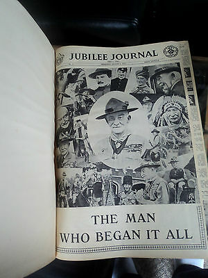 Boy Scout Book  - World Jamboree Newspapers 1957  - Sutton Coldfield England