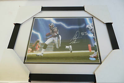 Antonio Gates San Diego Chargers Signed Framed 8x10 Photo with Steiner COA