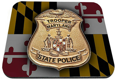 Maryland Trooper State Police Mouse Pad