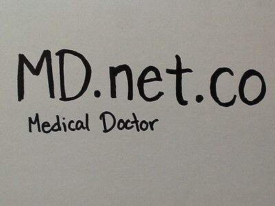 Md.net.co Premium Rare  LL.net.co Domain Name Godaddy  doctors domain medical