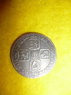 George I One Shilling Coin 1720 - UK / GB