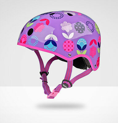 Micro Safety Helmet: Floral Dot