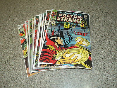 Doctor Strange Silver Age 168-183 Complete First Series