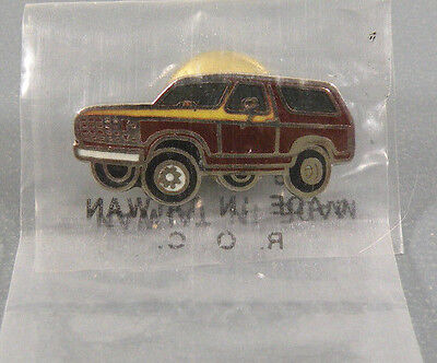 Vintage 1980s Ford Bronco Truck Pin