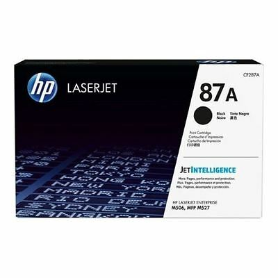 MOSTLY NEW Genuine HP 87A Laser Cartridge At Least 90% Toner Remaining CF287A