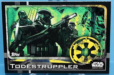 Topps Star Wars Rogue One Karte Nr.20 Todestruppler