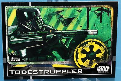 Topps Star Wars Rogue One Karte Nr.19 Todestruppler