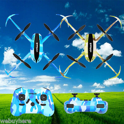 Virhuck 2.4GHz 4CH 6AXIS RC Drone UFO RC Hélicoptère Quadcopter Helicopter FR