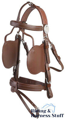 Zilco Driving Harness - Complete Brun Bridle - Cob, Full