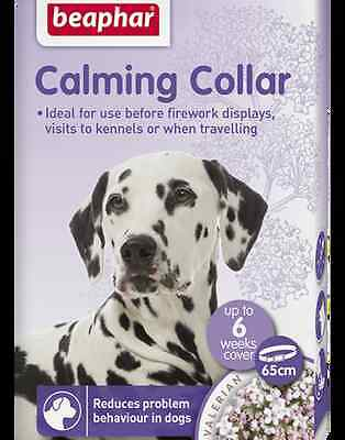 Beaphar Dog Calming Collar Anxiety Relief Reduces Problem Behaviour