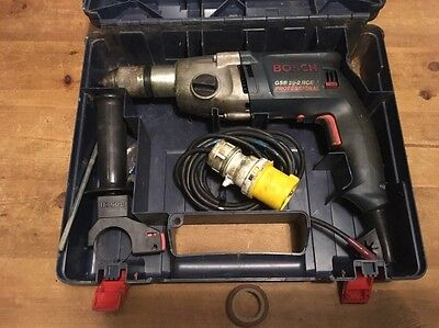 Bosch GSB 20-2 RCE Professional Percussion/ Hammer Drill 2 Speed 110v