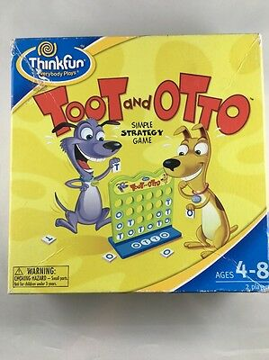 Toot And Otto Simple Strategy Game By Think Fun Players Kids Game