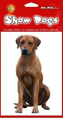Rhodesian Ridgeback Breed of Dog Double Sided Window Sticker Perfect Gift