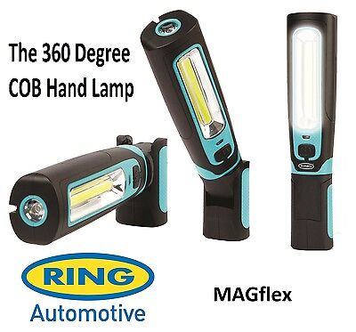 Ring MAGflex Twist Ultra Bright COB LED Inspection Lamp Torch Light - RIL3600HP