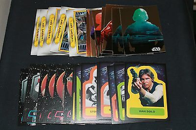 (34) 2015 Topps Star Wars: Journey to The Force Awakens Insert Card Lot Cards