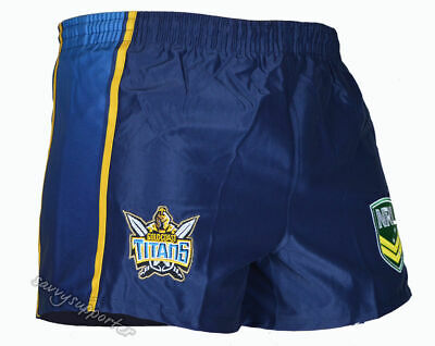 Gold Coast Titans NRL Alternate Footy Shorts 'Select Size' S-4XL