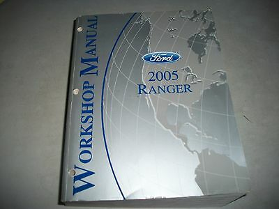 2005 Ford Ranger Workshop Manual  Very Nice Clean Cmystore4More