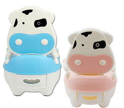 Kid Baby Potty Training Toddler Child Toilet Seat Trainer Chair Stool Children