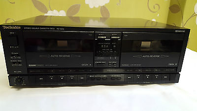 Technics RS-X933 Stereo Double Cassette Deck Player