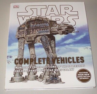 Star Wars Complete Vehicles Hardcover Book Lucas Books Incredible Cross Sections