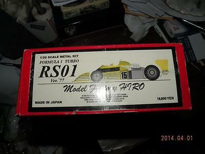 Model Factory Hiro Mfh 1/20 Renault Rs01 Turbo F1 Metal Kit