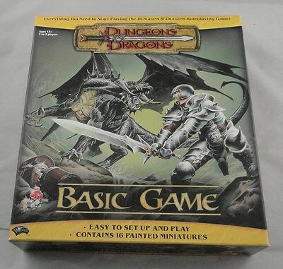 Dungeons & Dragons Basic Game Wizards of the Coast 2004 D&D 96647 (No Minis)