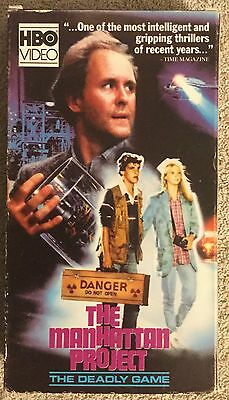 The Manhattan Project (VHS) 1986