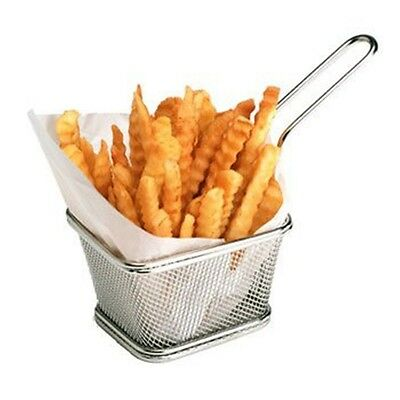 Frying Chip Boil Folds Potato Mini Fries Special Basket Tool Kitchen Fry