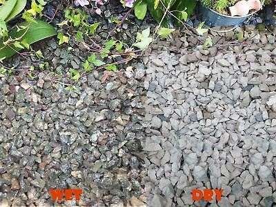 20mm Iridescent Blue Granite Gravel Pathway Deter Weed Plant Top Dressing 1-30kg
