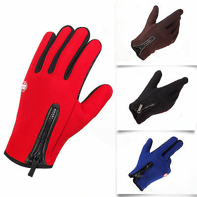 Sports Men's Winter Warm Windproof Ski Cycling Snow Snowboard Motorcycle Gloves