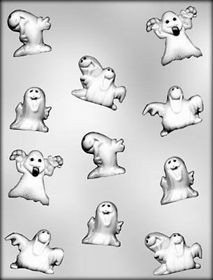 Party Ghosts Chocolate Mould