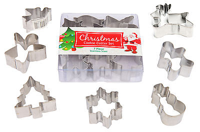 Christmas Cookie Cutter Pack (7 Pieces Mini)
