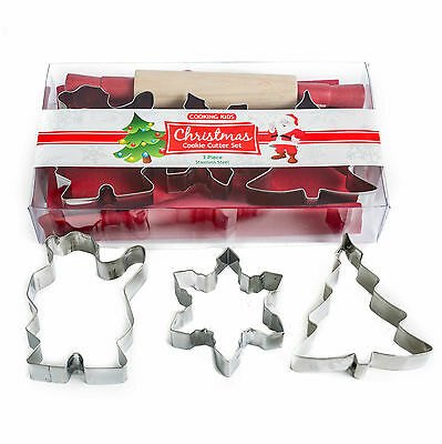Kids Christmas Cookie Cutter Pack